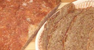 Амарантово-овсяный хлеб
